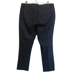 Tommy Hilfiger Pants - Tommy Hilfiger Navy Blue w/ Polka Dots Pants 12